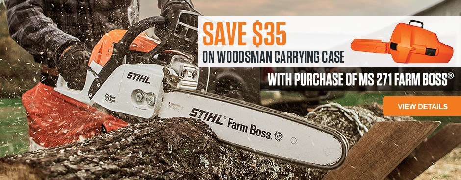 SAVE $35 on Woodsman Carrying Case!